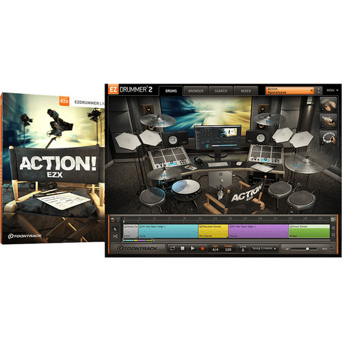 Toontrack Action! EZX - Expansion Pack for EZdrummer 2 (Download)
