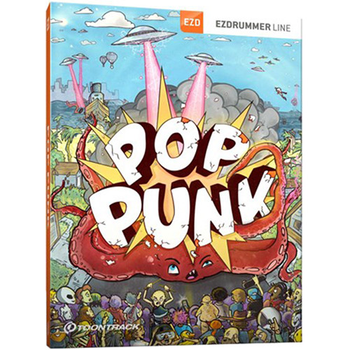 Toontrack Pop Punk EZX Drum Sounds for EZdrummer 2 or Superior Drummer 3 (Download)