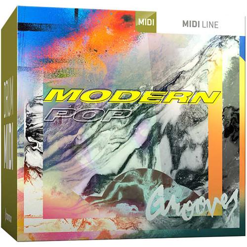 Toontrack Modern Pop MIDI Drum Grooves for EZdrummer 2 or Superior Drummer 3 (Download)