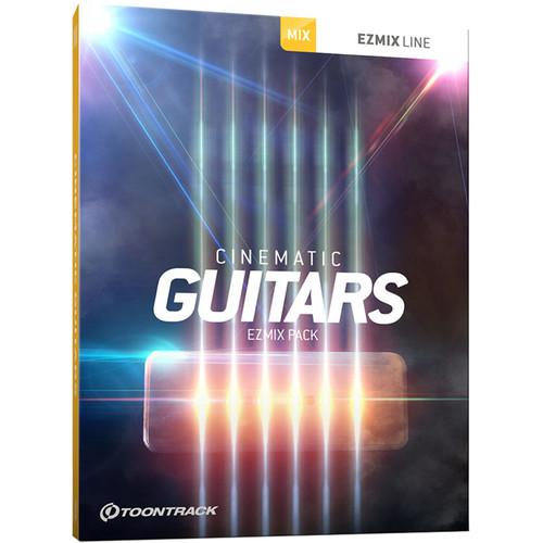 Toontrack Cinematic Guitars EZMix Pack - Preset Expansion Pack for EZmix 2 (Download)