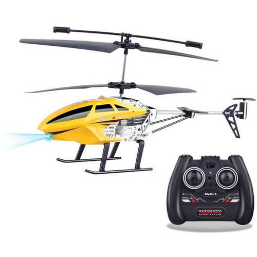 Top Race 3.5-Channel Remote Control Helicopter (yellow)
