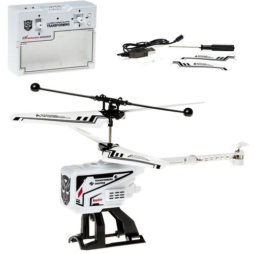 Top Race TR-Z12 3.5 Channel RC Remote Control Fold-Up Chopper