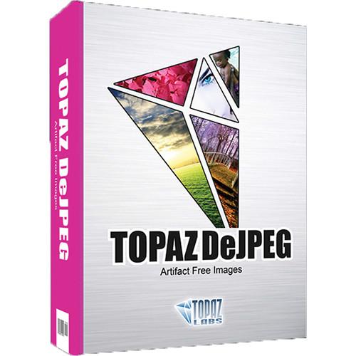Topaz Labs LLC DeJPEG Plug-In (DVD)