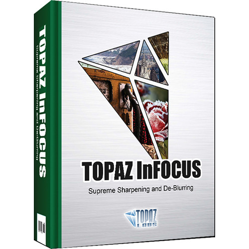 Topaz Labs LLC InFocus Plug-In (DVD)