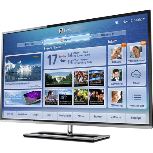 "Toshiba 50L7300U 50"" Class 1080p Cloud LED TV"