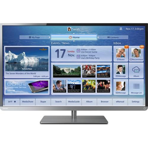 "Toshiba 58L4300U 58"" Class 1080p Cloud LED TV"