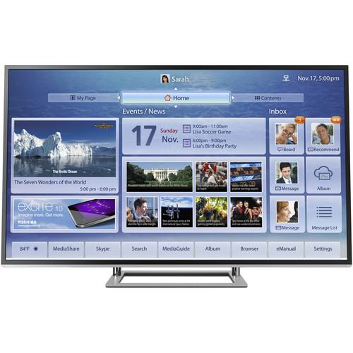 """Toshiba 84L9300U 84"""" 4K Ultra HD 3D Ultra-Slim Cloud LED TV"""