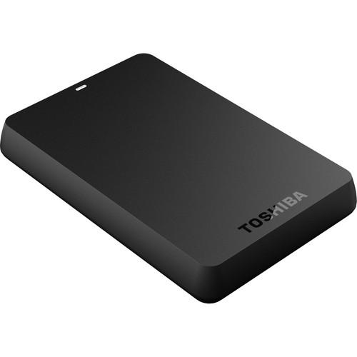 Toshiba 1TB Canvio Basics 3.0 Portable External Hard Drive (Black)