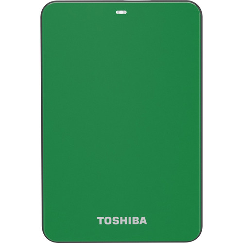 Toshiba Canvio 3.0 V6 500GB USB 3.0 Portable HDD (Green)