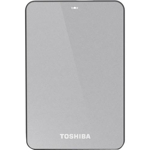 Toshiba Canvio 3.0 V6 500GB USB 3.0 Portable HDD (Silver)