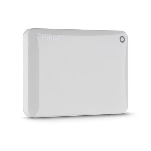 Toshiba Toshiba Canvio Connect Portable Hard Drive (750GB, White)