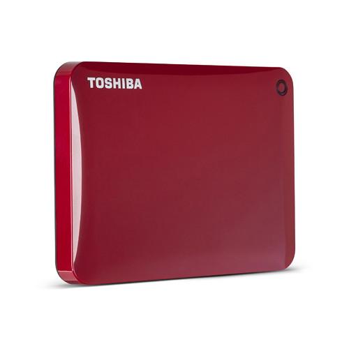 Toshiba Toshiba Canvio Connect Portable Hard Drive (1.5TB, Red)