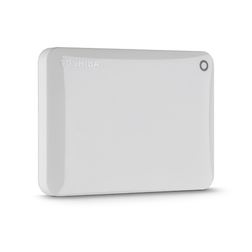 Toshiba Toshiba Canvio Connect Portable Hard Drive (1.5TB, White)