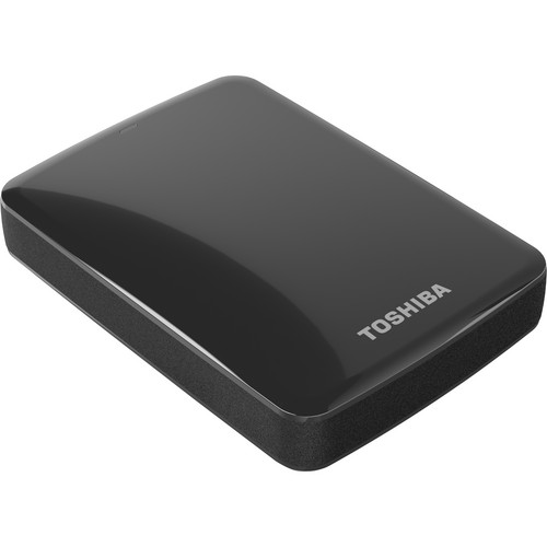 Toshiba 2TB Canvio Connect USB 3.0 Portable Hard Drive (Black)