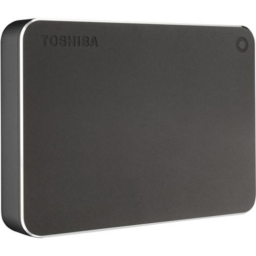 Toshiba Canvio Premium Portable Hard Drive (1TB, Graphite)