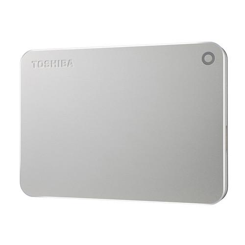 Toshiba Canvio Premium Portable Hard Drive (1TB, Silver)