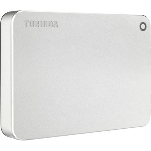 Toshiba 3TB Canvio Premium Portable External Hard Drive for Mac (Silver)