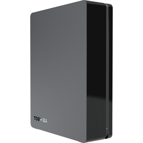 Toshiba 2TB Canvio Desktop External Hard Drive (Black)