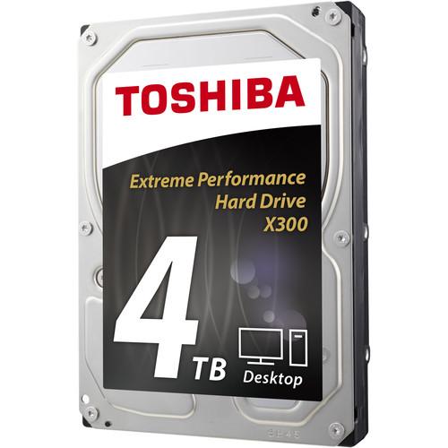 "Toshiba 4TB X300 7200 rpm SATA III 3.5"" Internal Hard Drive"