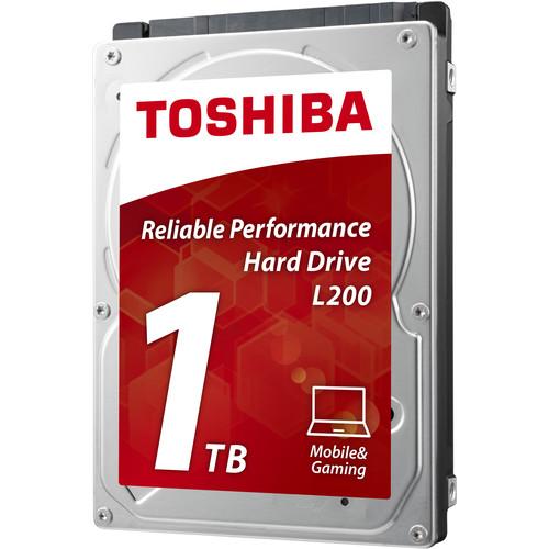 """Toshiba 1TB L200 5400 rpm SATA II 2.5"""" Internal Hard Drive"""