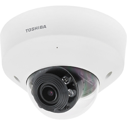 Toshiba IK-WD31A 3MP True Day/Night Indoor IP Dome Camera with Smart Codec