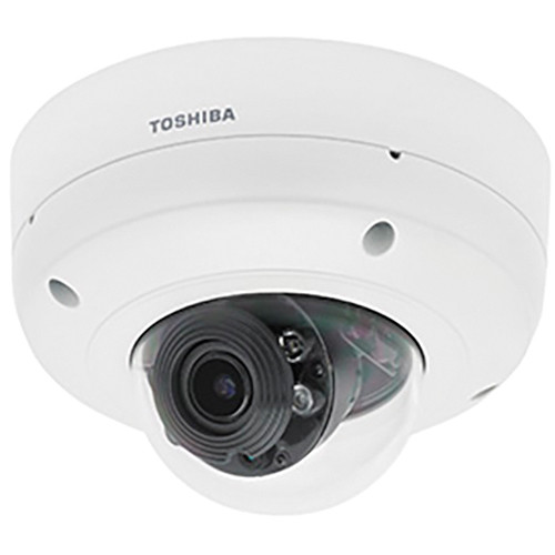 Toshiba IK-WR31A 3MP True Day/Night Indoor/Outdoor Vandal Dome IP Camera with Smart Codec
