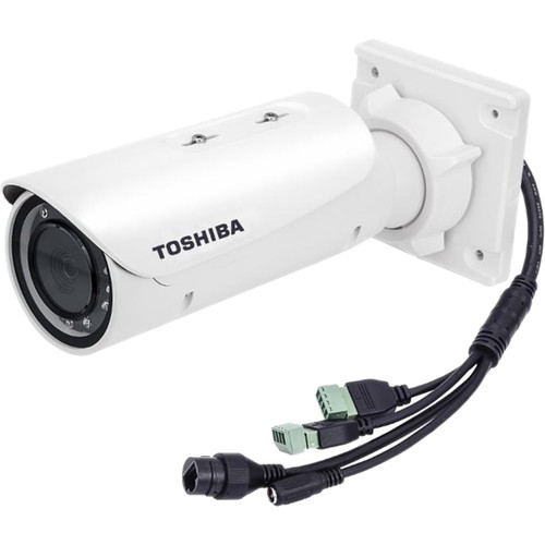 Toshiba J-WB51A 5MP Outdoor Vandal-Resistant Network Bullet Camera with Night Vision & 4-9mm Varifocal Lens