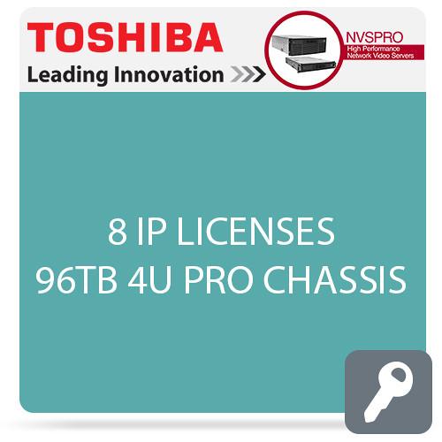 Toshiba NVSPRO Series 8-Channel 4U Rack Mount Server (96TB)
