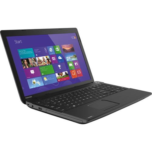 "Toshiba Satellite C55-A5166 15.6"" Notebook Computer (Satin Black)"