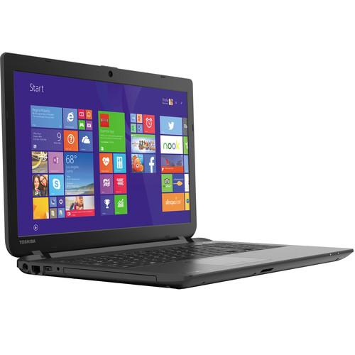 "Toshiba Satellite C55-B5298 15.6"" Notebook Computer with Windows 8.1 with Bing (Jet Black)"