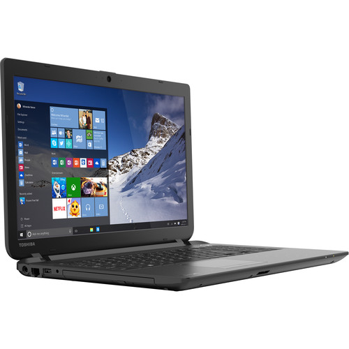 "Toshiba 15.6"" Satellite C55 Series Notebook (Jet Black)"