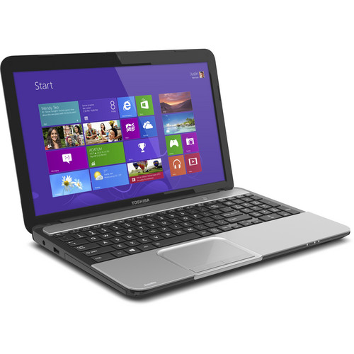 "Toshiba Satellite L855-S5136NR 15.6"" Notebook Computer (Mercury Silver)"