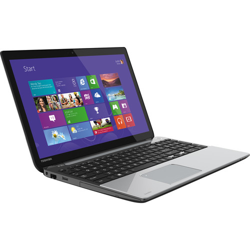 "Toshiba Satellite L55Dt-A5253 15.6"" Multi-Touch Notebook Computer (Mercury Silver)"