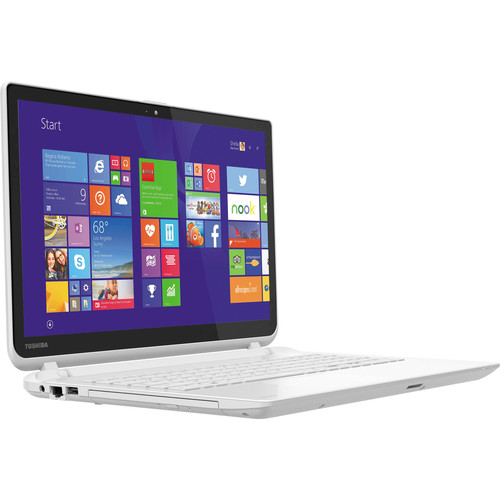 "Toshiba Satellite L55T-B5257W 15.6"" Multi-Touch Notebook Computer (White)"