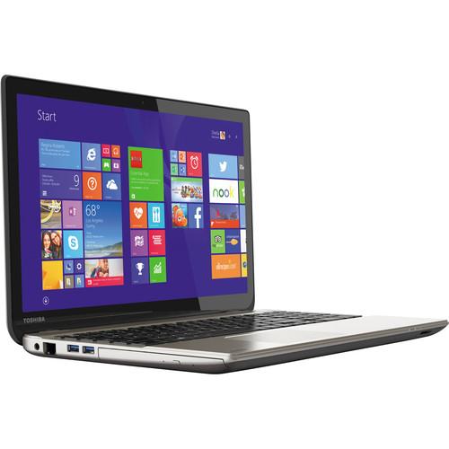 "Toshiba Satellite P55T-B5156 15.6"" 4K UHD Touchscreen Notebook Computer (Satin Gold)"
