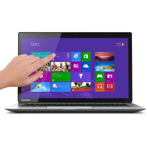 "Toshiba KIRAbook 13.3"" i5 Multi-Touch Ultrabook Computer"