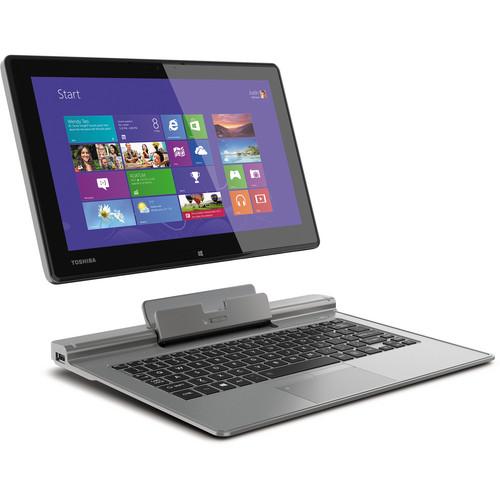 "Toshiba Portege Z15T-A1210 Detachable 11.6"" Multi-Touch Ultrabook Computer (Ultimate Silver)"