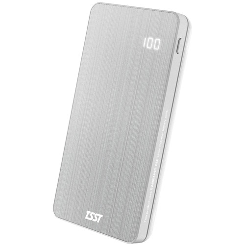 Toshiba Samsung Storage Tech 10,000mAh 2-Port USB Power Pack (Silver)