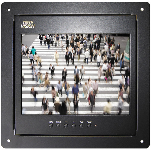 """Tote Vision LED-1002HDL 9.7"""" LED Camera Monitor with Flush Mount"""