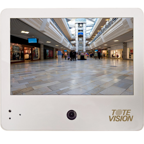 """Tote Vision 10"""" LCD Public View Monitor with 1080p Network Camera"""
