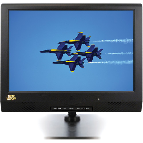 "Tote Vision 12"" Counter-Mounted LCD TV/Monitor"