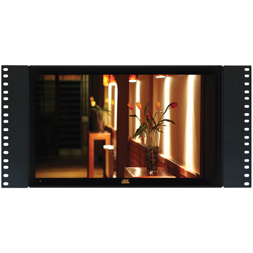 """Tote Vision LED-1566HDTR 15.6"""" Full HD Rack-Mount LCD Monitor"""