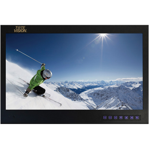 "Tote Vision 19"" LCD Monitor with Digital TV Tuner"