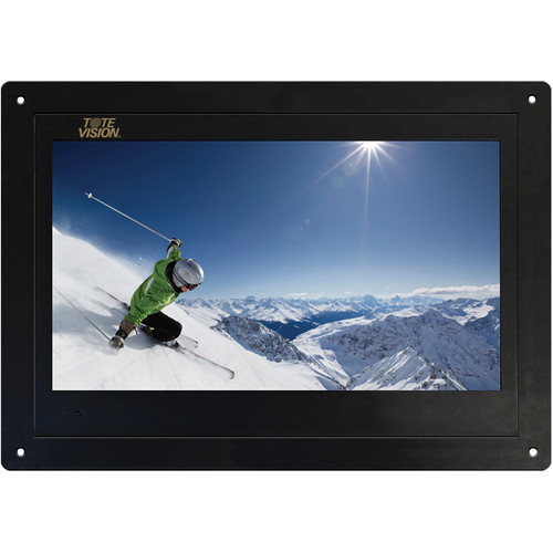 "Tote Vision 19"" Flush-Mount LCD Monitor"