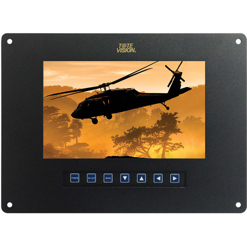 """Tote Vision 7"""" 1920 x 1200 Flush-Mount LCD Monitor"""