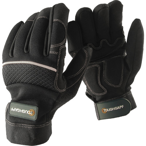 Tough Gaff ToughGlove Magnetized Working Gloves (Large)