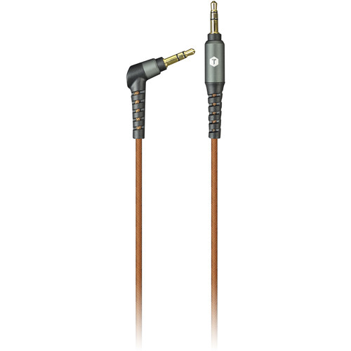 ToughTested PRO Armor Weave 3.5mm Stereo Mini Male to Stereo Mini Male Aux Cable with Slim Tip (8')