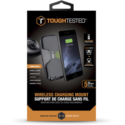 ToughTested Wireless Fast Charging Car Mount