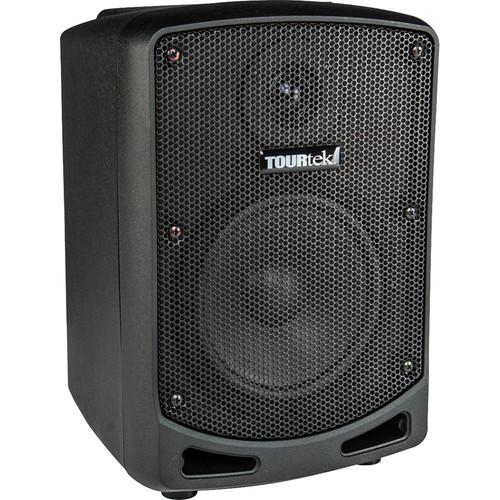 "Tourtek TBX Powered Speaker,  Rechargeable Battery, 6""/HF, Bluetooth"