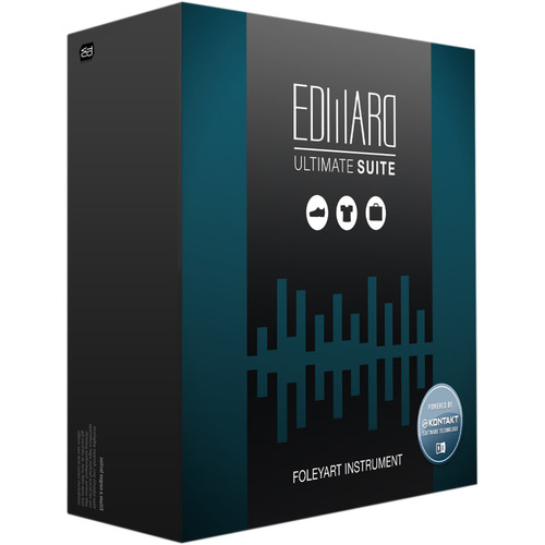 Tovusound Edward Ultimate SUITE - Real Recorded and Playable Foley-FX (Download)